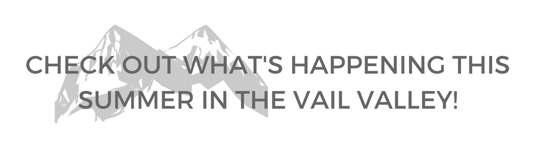 Summer Events in Vail, CO