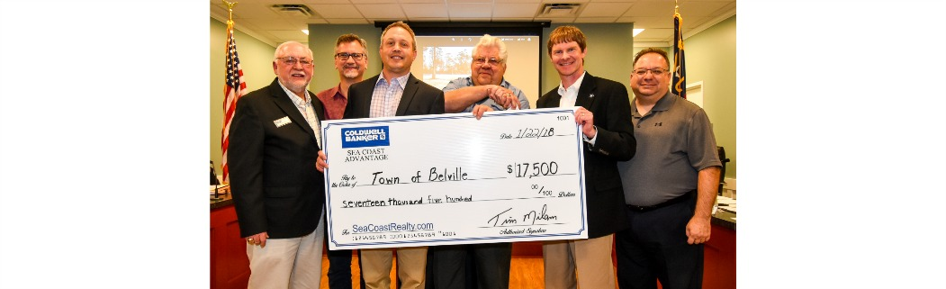 CBSCA Donates 17500 to Belville for New Cultural Arts Pavilion
